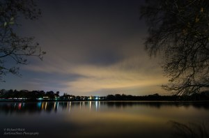 Heath Lake after Dark