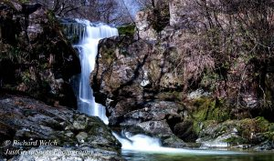 Just one of the hidden waterfalls at Aira Force